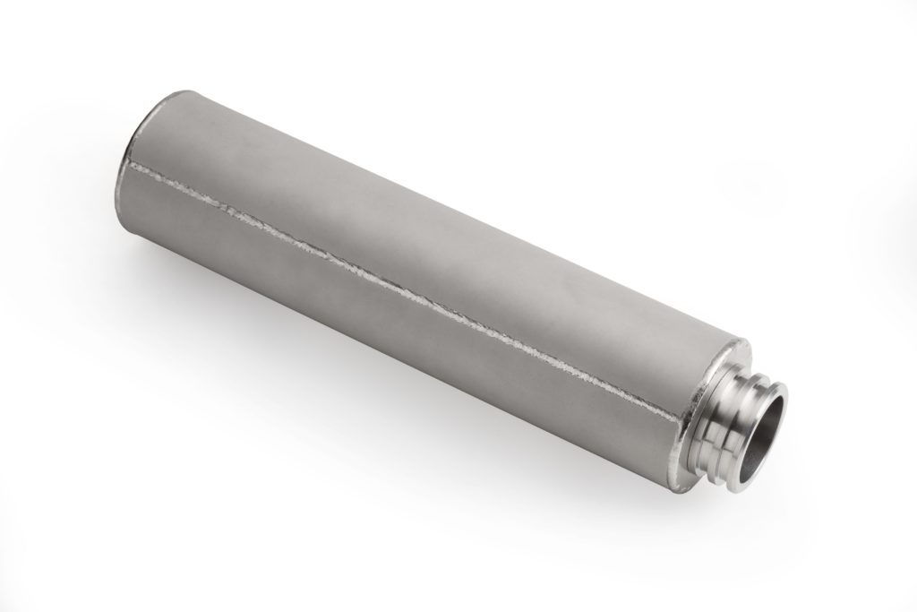 porous metal cartridge filters
