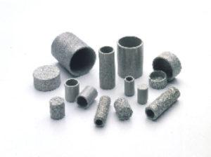 Porous metal cups